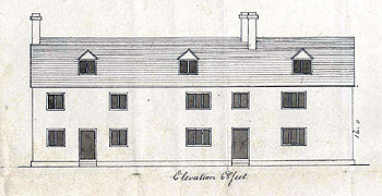 Front elevation of the parish workhouse 1790 [W2/17]